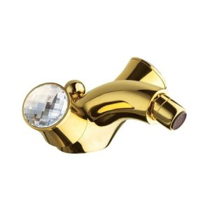 Vòi chậu nhập khẩu Italy mạ vàng 24k- ELISABETH39611SWOR