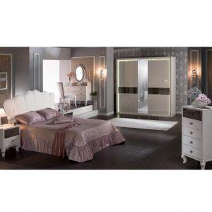 Bộ nội thất phòng ngủ Valentina nhập khẩu Châu Âu