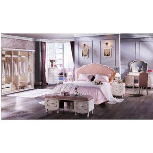 Bộ nội thất phòng ngủ Romeo nhập khẩu Châu Âu