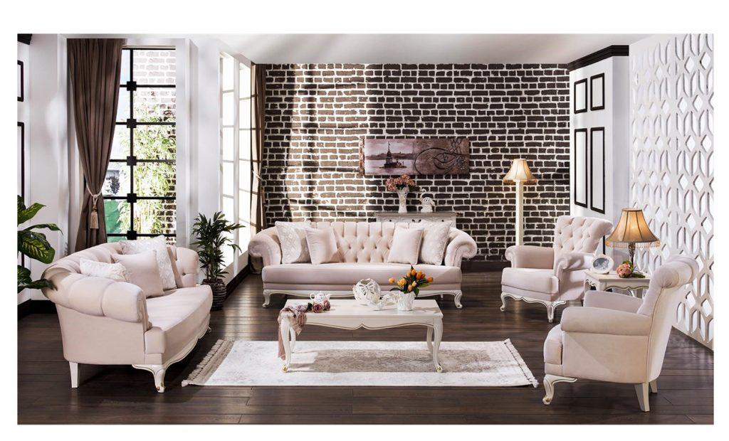 Bộ sofa Lisbon nội thất phòng khách hiện đại cao cấp