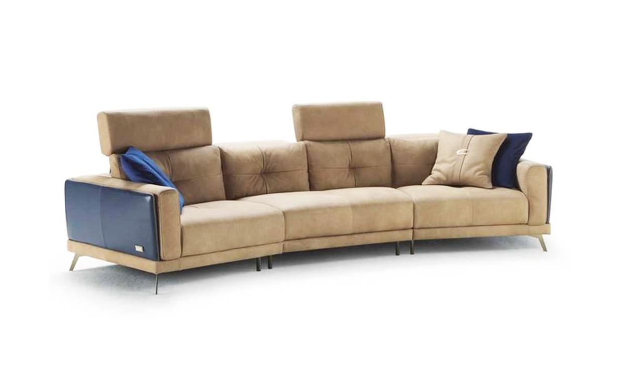 Bộ sofa da nhập khẩu Ý MIA phòng khách cao cấp