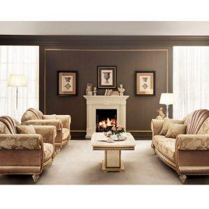 Bộ sưu tập nội thất phòng khách tân cổ điển Fantasia nhập khẩu Ý