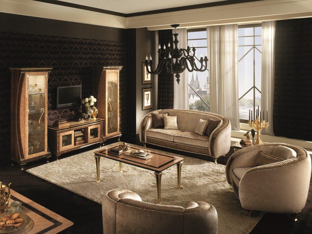 Bộ sưu tập nội thất cổ điển Rossini cao cấp nhập khẩu Ý