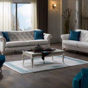 Bộ sofa phòng khách Valentina nhập khẩu Châu Âu