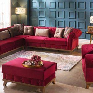 Bộ sofa phòng khách Versay nhập khẩu