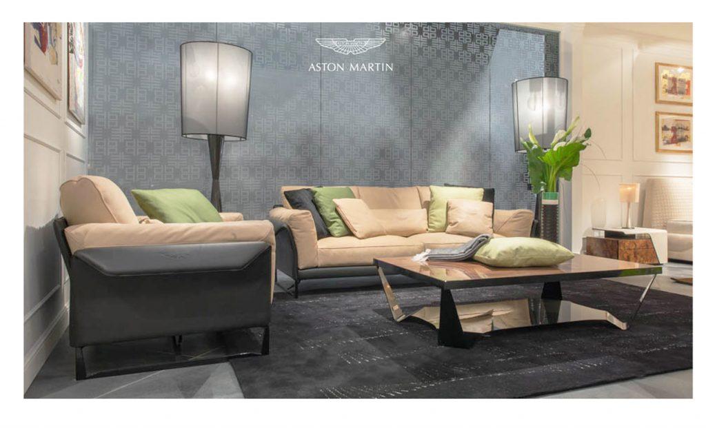 Bộ ghế sofa da cao cấp nhập khẩu Ý - ASton Martin