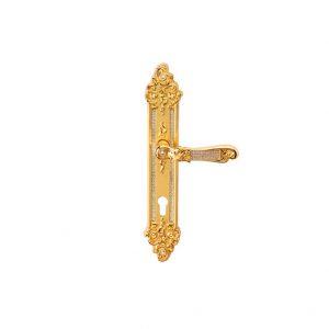 Tay nắm khóa cửa Tiffany sw on pl.8x85 cyl plo