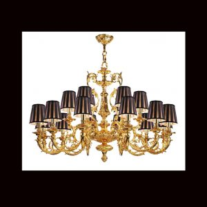 Đèn chùm CORDON CHANDELIER WITHOUT SHADES/FINISH NO4