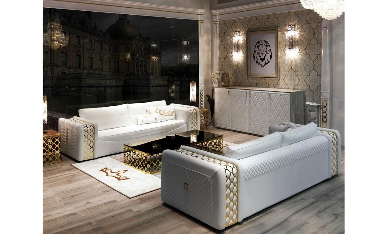 Bộ sưu tập sofa da phòng khách Infinity hiện đại nhập khẩu Ý