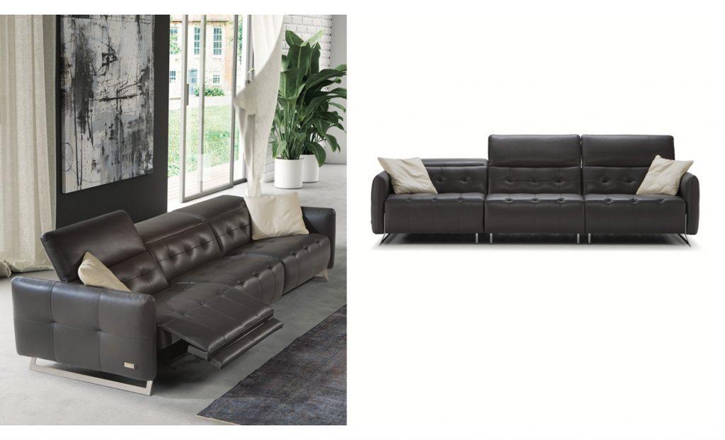 Bộ sofa da nhập khẩu Ý - TRIUMPH
