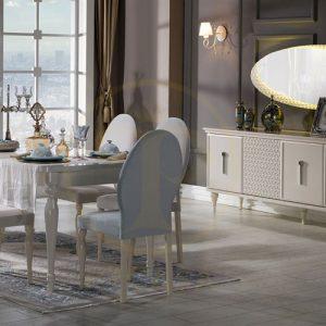 Bộ bàn ăn Angel nhập khẩu Châu Âu