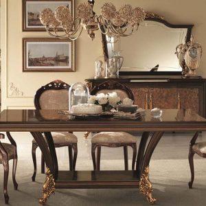 Bộ nội thất phòng ăn cổ điển Sinfonia nhập khẩu Ý