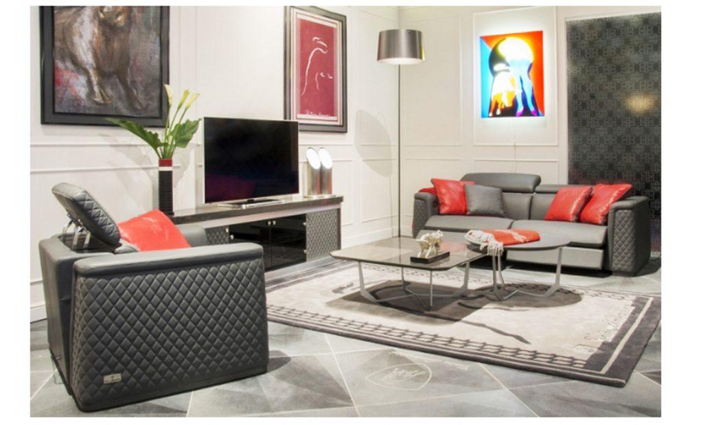 Bộ ghế sofa da cao cấp nhập khẩu Ý - Park Avenue