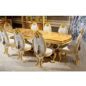 Bộ sưu tập nội thất phòng ăn Versailles nhập khẩu Lacontessina Ý