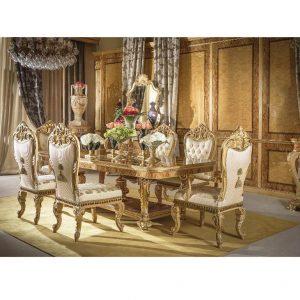 Bộ sưu tập nội thất phòng ăn cổ điển Grand Palace nhập khẩu ý