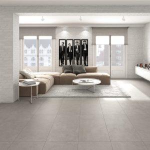 Isen Grey Natural - Gạch lát nhập khẩu Tây Ban Nha hãng Aparici 100x100