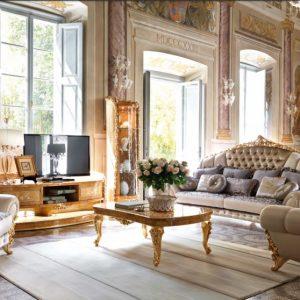 10 mẫu nội thất phòng khách cổ điển nhập khẩu được ưa chuộng