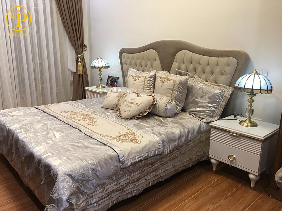 Công trình: Sofa, giường ngủ nhập khẩu thổ Nhỹ Kỳ tại Nhà chị Hạnh tại Đông Anh