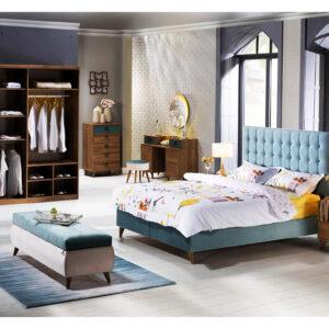 10 mẫu giường ngủ có ngăn kéo để đồ nhập khẩu Châu Âu tối đa diện tích
