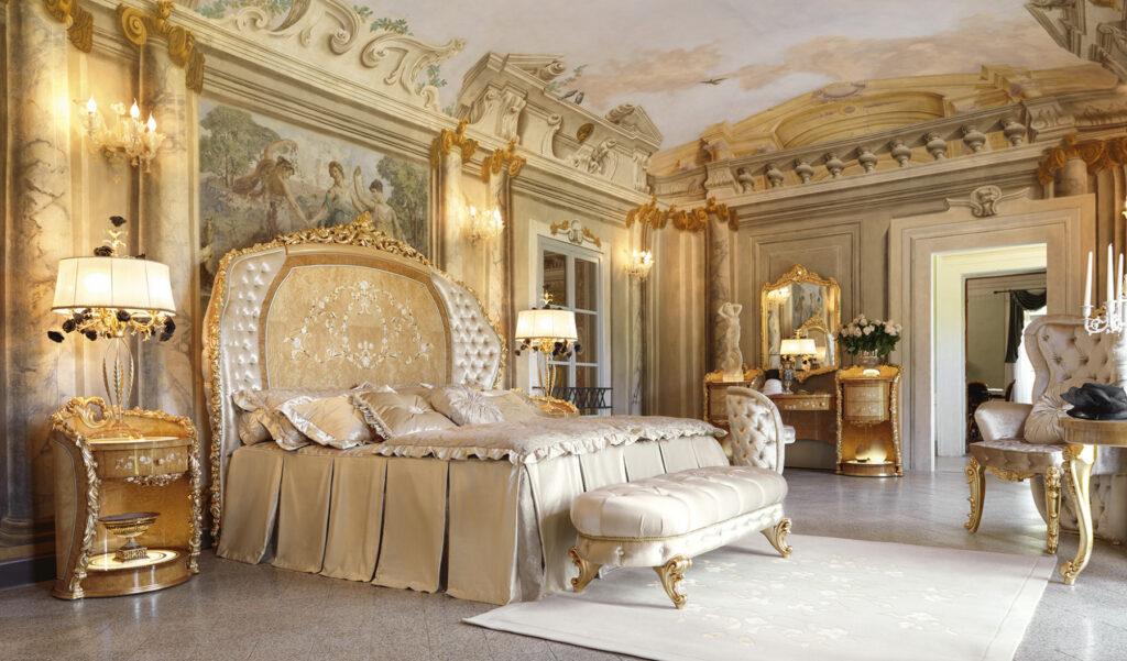 Say Đắm giường gỗ cổ điển đẹp nhập khẩu Châu Âu đẳng cấp Đế Vương