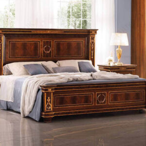 Giường ngủ tân cổ điển Modigliani nhập khẩu Ý