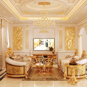 Nội thất cổ điển: mang cung điện vào mọi ngôi nhà, căn hộ