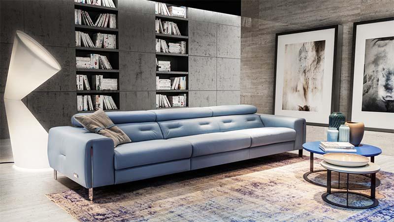 Bộ sofa phòng khách Plano nhập khẩu Ý