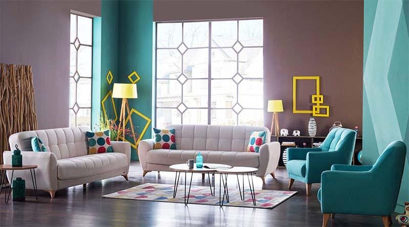 Bộ sofa nhập khẩu phòng khách FIONA