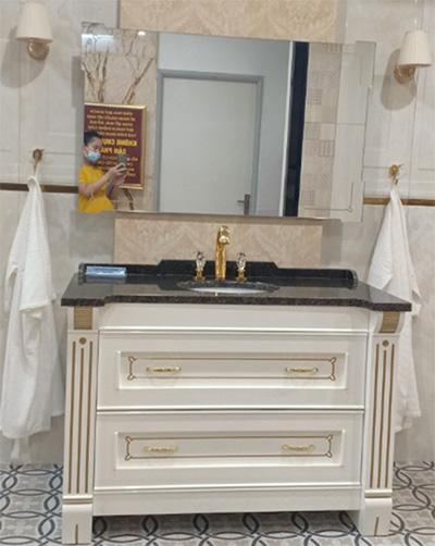 Thông tin Bộ tủ chậu phòng tắm OPERA 01 – MIA nhập khẩu Italia